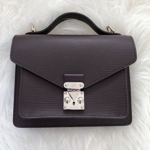 Louis Vuitton Monceau BB Epi in Quetsche